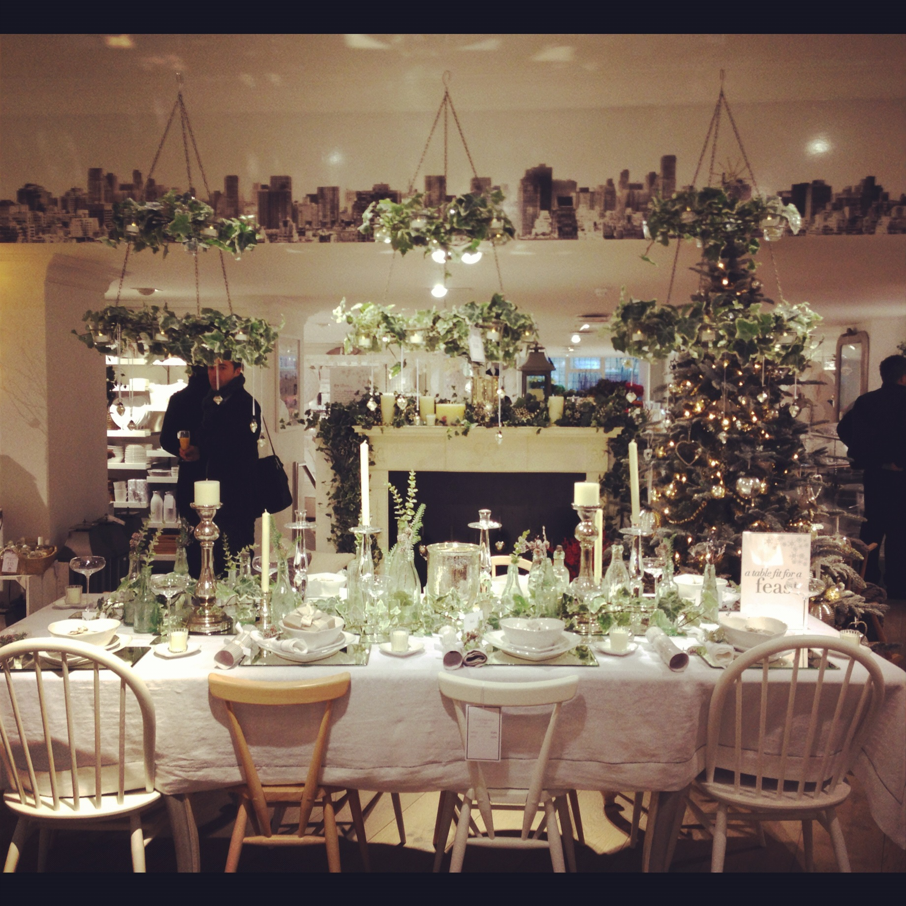 All I Want For Christmas Is The White Company Literally